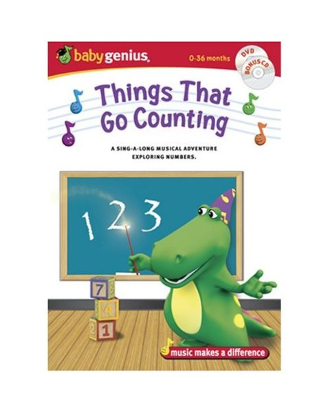 Baby Genius Things That Go Counting DVD