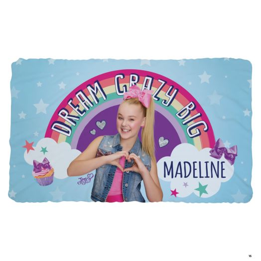 JoJo Siwa Dream Crazy Big Fuzzy Blanket