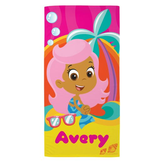 Bubble Guppies Molly Microfiber Beach Towel