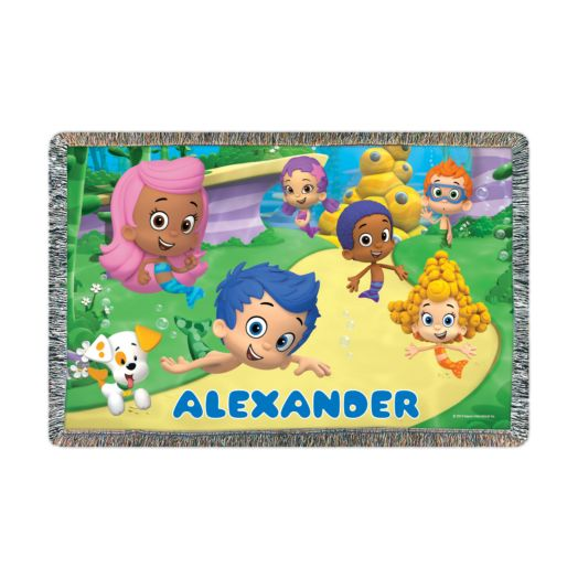 Bubble Guppies Friends Throw