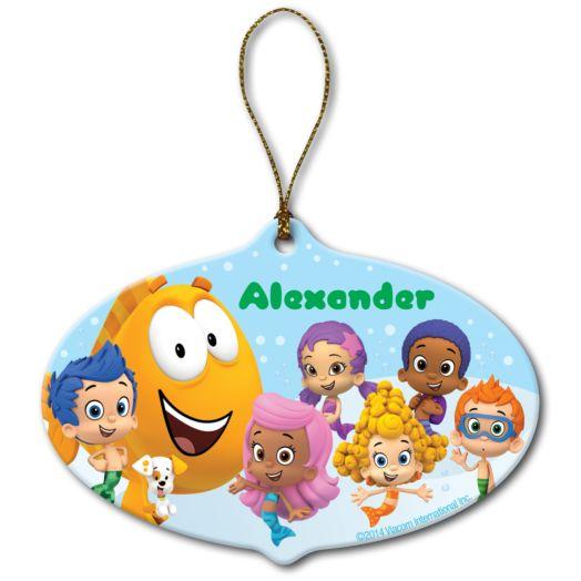 Bubble Guppies Group Ornament