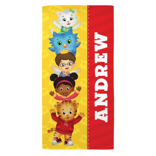Daniel Tiger's Neighborhood Friends Microfiber Beach Towel