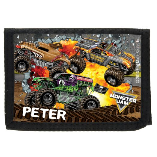Monster Jam Madness Wallet