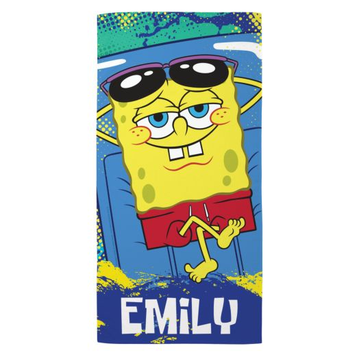 SpongeBob SquarePants Raft Beach Towel