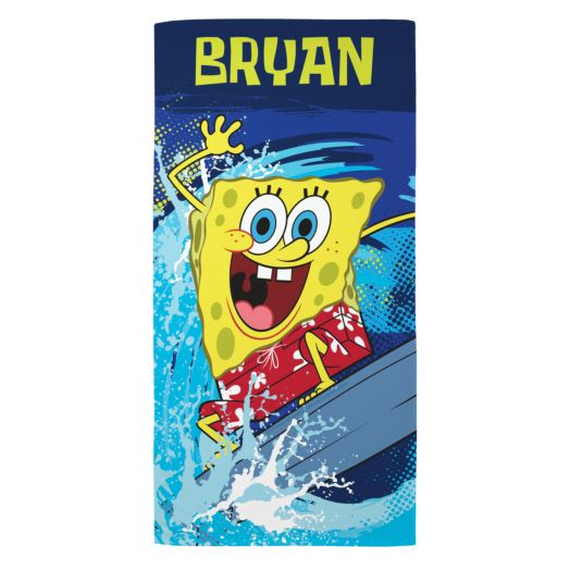 SpongeBob SquarePants Wave-Tastic Beach Towel