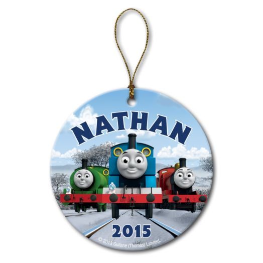 Thomas & Friends Winter Fun Circle Ornament