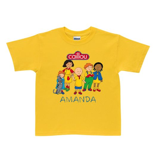 Caillou Friends Yellow T-Shirt