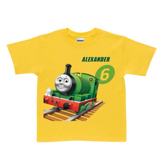 Thomas & Friends Percy No. 6 Yellow T-Shirt