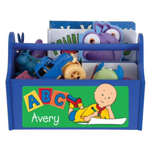 Caillou ABC Blue Toy Caddy