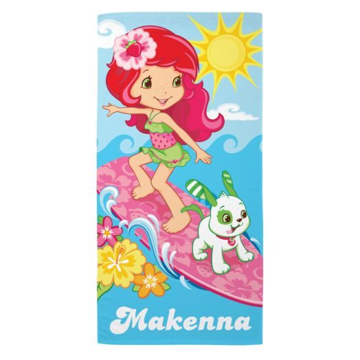 Strawberry Shortcake Surfin' Sweetie Microfiber Beach Towel