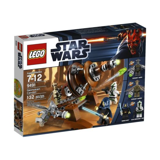 LEGO® Star Wars Geonosian Cannon Playset - 9491