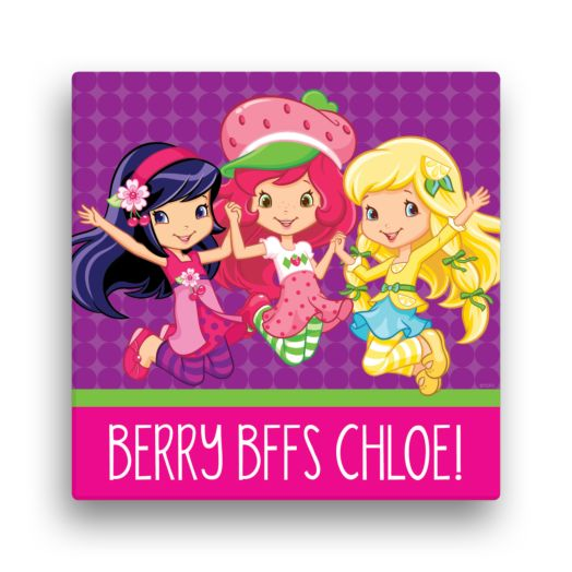 Strawberry Shortcake Berry BFFs 12 x 12 CanvasWall Art
