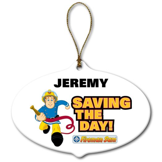 Fireman Sam Saving the Day Ornament
