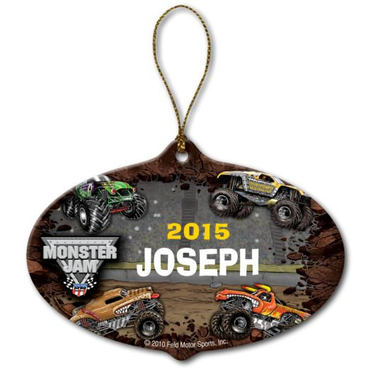 Monster Jam Stadium Ornament