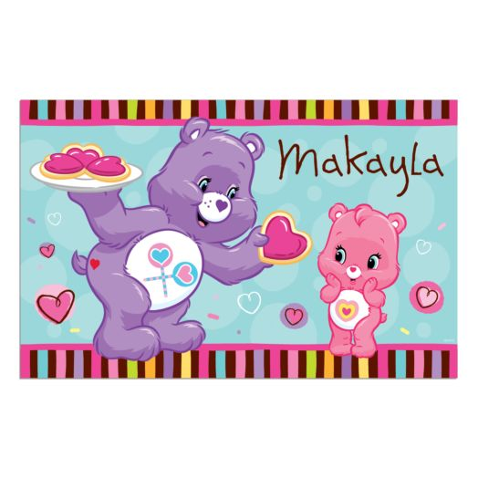 Care Bears Wonderheart and Share Bear Placemat