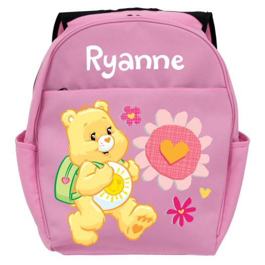 Care Bears Funshine Bear Pink Toddler Backpack