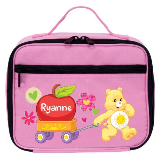 Care Bears Funshine Bear Pink Lunch Bag