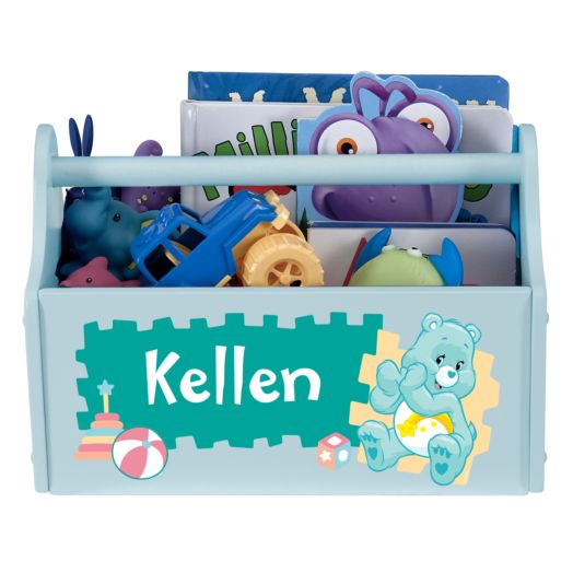 Care Bears Let's Play Light Blue Toy Caddy