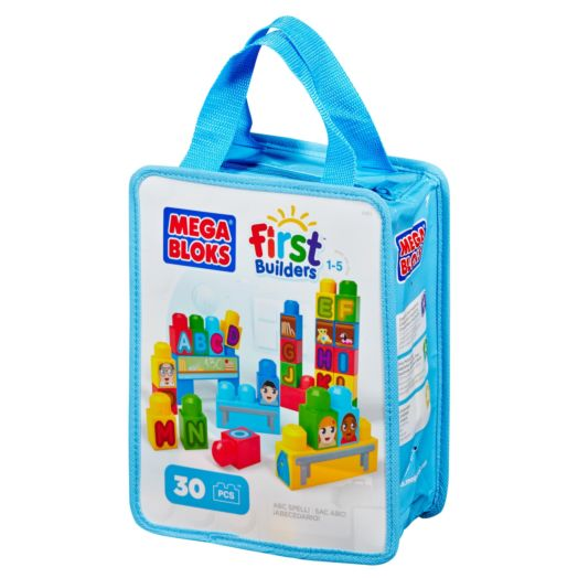 Mega Bloks Build'n Learn ABC  Spelling Blocks