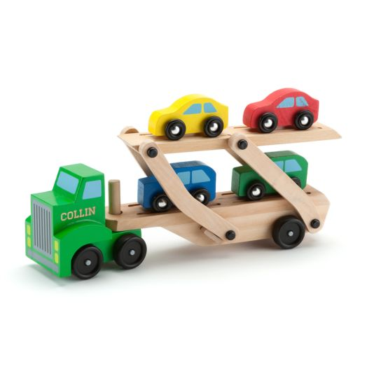 Melissa & Doug Personalized Car Carrier
