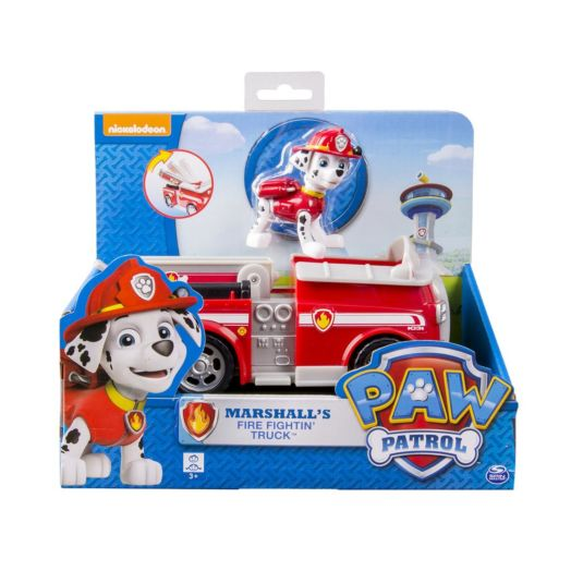 Nickelodeon PAW Patrol Fire Truck with Marshall Figurine