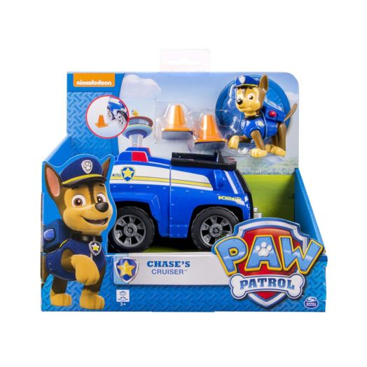 Nickelodeon PAW Patrol SWAT Car with Chase Figurine