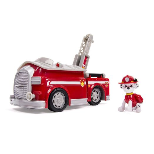 Nickelodeon PAW Patrol Deluxe Transforming Fire Truck With Marshall Figure