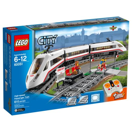 LEGO City High-Speed Passenger Train V39 - 60051