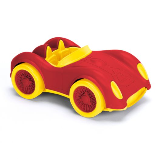 PBS KIDS Race Car - Red and Yellow