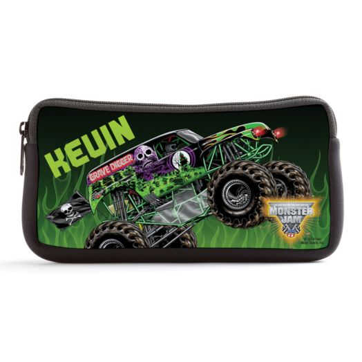 Monster Jam Grave Digger Black Pencil Case