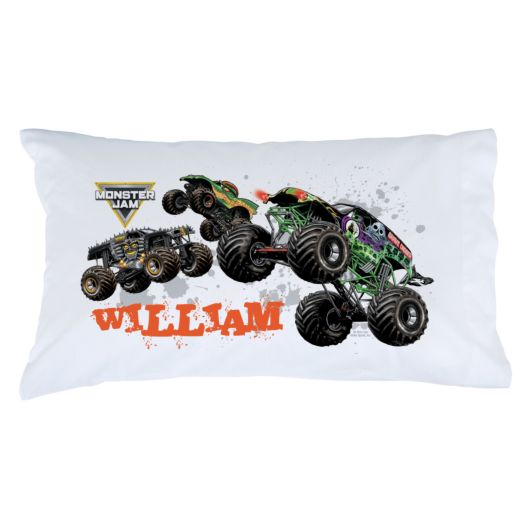Monster Jam Start Your Engines Pillowcase