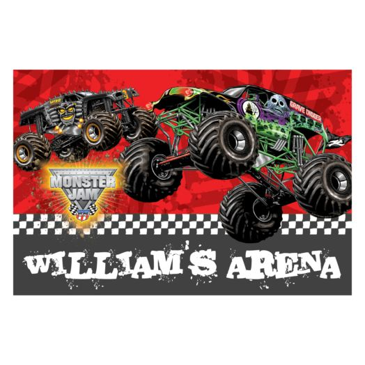 Monster Jam My Arena Floor Mat