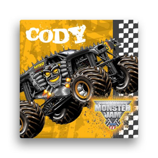 Monster Jam Max D 12 x 12 Canvas Wall Art
