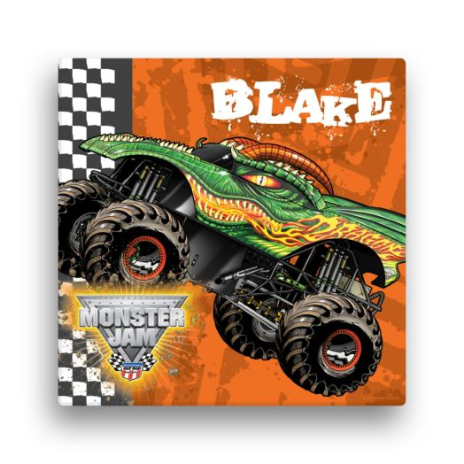 Monster Jam Dragon 16 x 16 Canvas Wall Art
