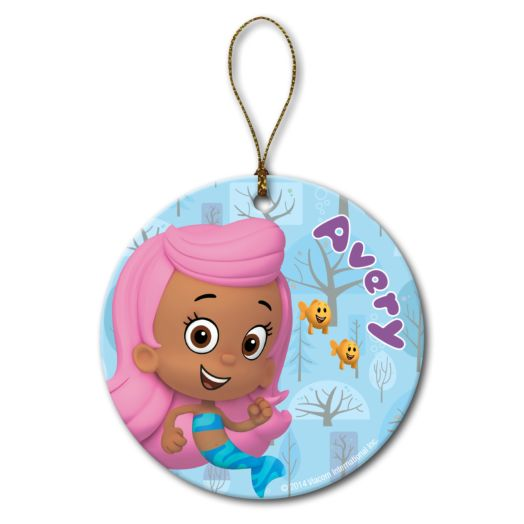 Bubble Guppies Molly and Little Fish Ornament