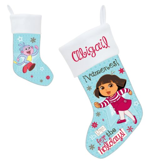 Dora Time for the Holidays Stocking