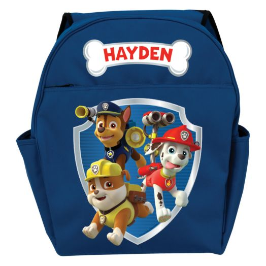 PAW Patrol Ready for Adventure Blue Toddler Backpack