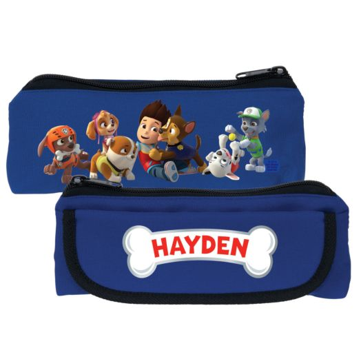 PAW Patrol Playful Pups Blue Pencil Case