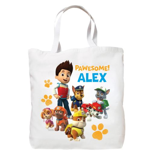 PAW Patrol Pawesome Canvas Tote Bag