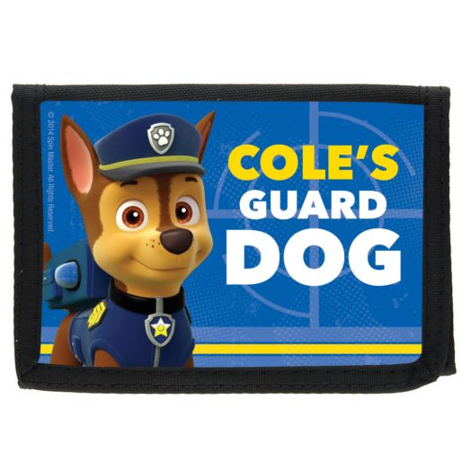 PAW Patrol Chase the Guard Dog Wallet