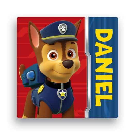 PAW Patrol Chase Canvas 16x16 Wall Art