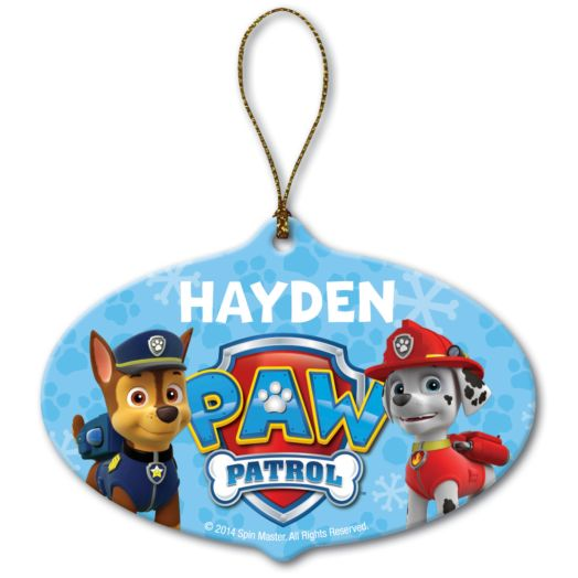 PAW Patrol Marshall and Chase Ornament