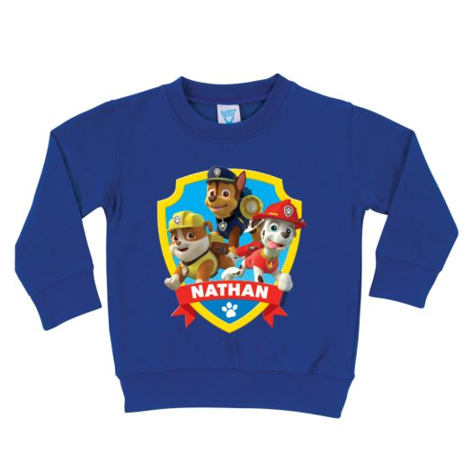 PAW Patrol Saves the Day Royal Blue Pullover Sweatshirt