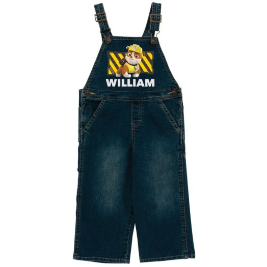 PAW Patrol Rubble Denim Overalls