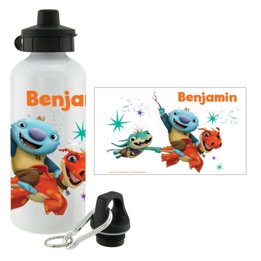 Wallykazam Flying Friends Water Bottle