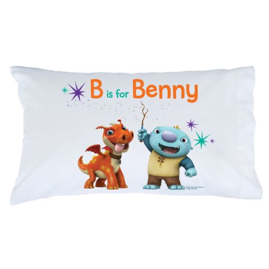 Wallykazam Spelling Magic Pillowcase
