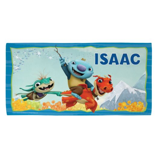 Wallykazam Flying Friends Beach Towel