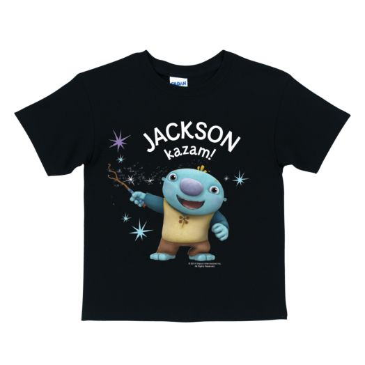 Wallykazam Magic Black T-Shirt