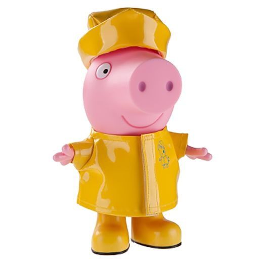 Peppa Pig 9 Inch Figure with Rainy Day Outfit