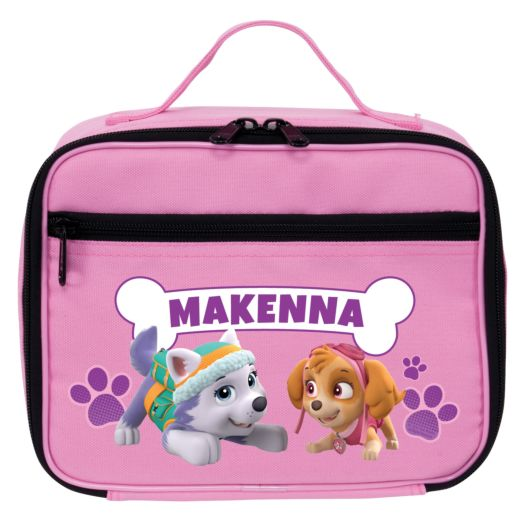 PAW Patrol Playful Pups Pink Lunch Bag